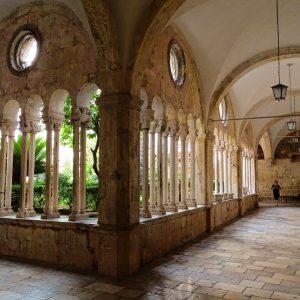 arcade, cathedral, dubrovnik