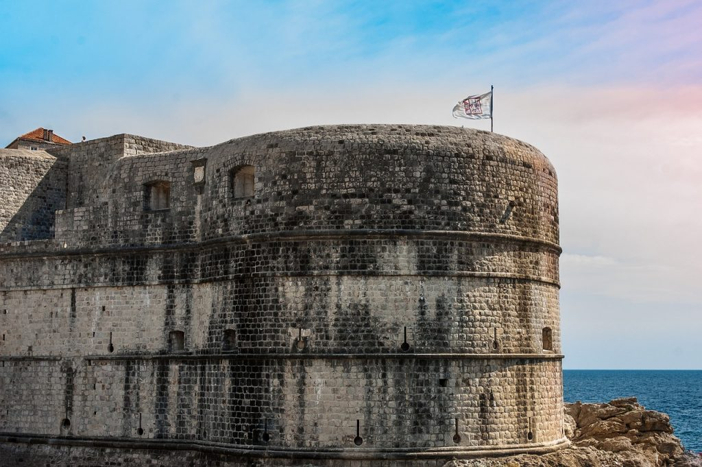 walls, dubrovnik, croatia
